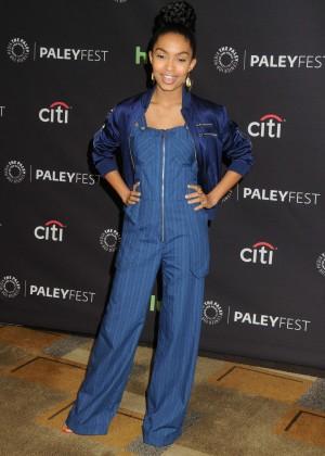 Yara Shahidi - 33rd Annual PaleyFest 'Blackish' in Hollywood