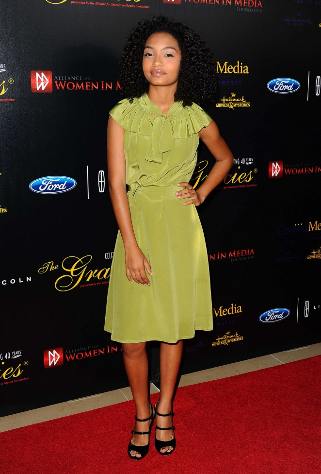 Yara Shahidi - 2015 Gracies Awards in Beverly Hills