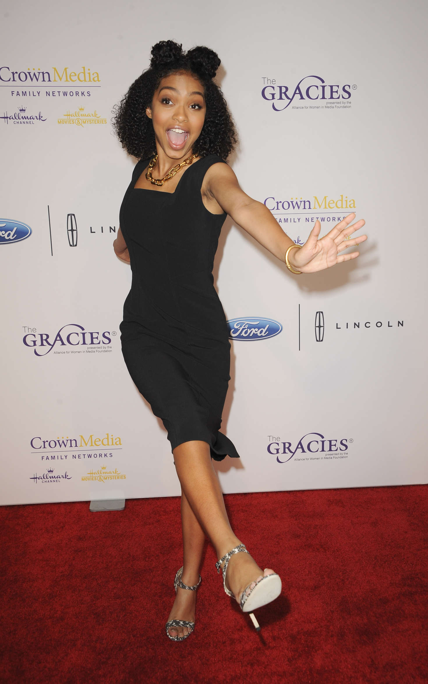 Yara Shahidi - 41st Annual Gracie Awards Gala in Beverly Hills