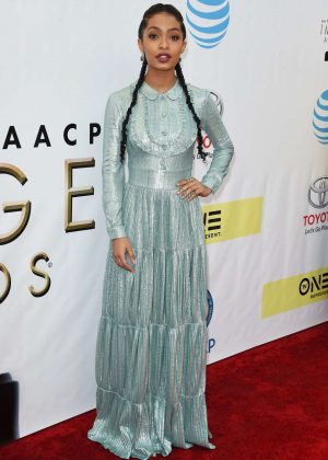 Yara Shahidi - 48th NAACP Image Awards in Pasadena