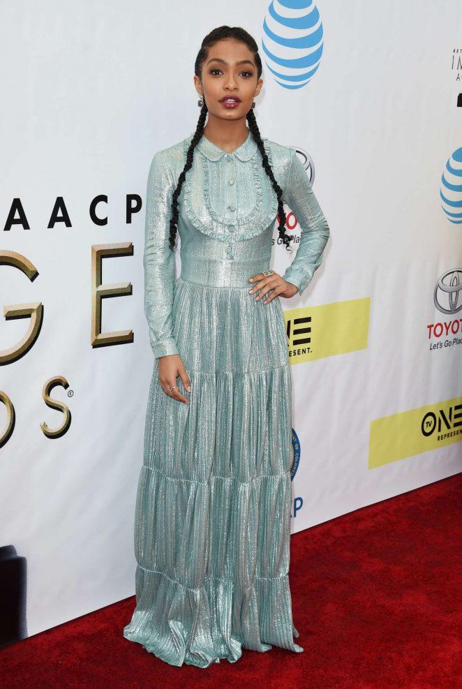 Yara Shahidi - 48th NAACP Image Awards in Pasadena