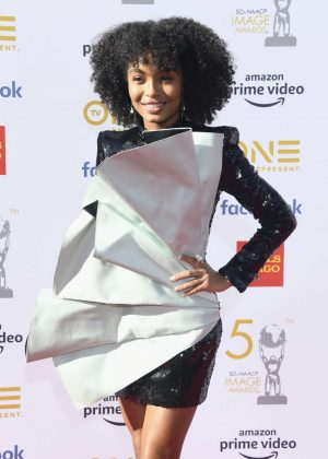 Yara Shahidi - 50th Annual NAACP Image Awards in Hollywood