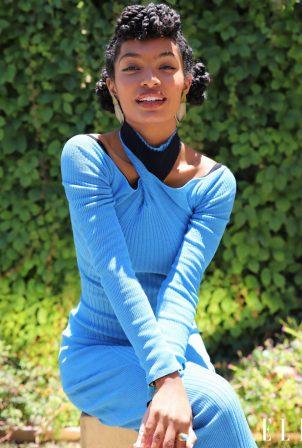 Yara Shahidi - Afshin Shahidi Photoshoot for Elle Magazine (July 2020)
