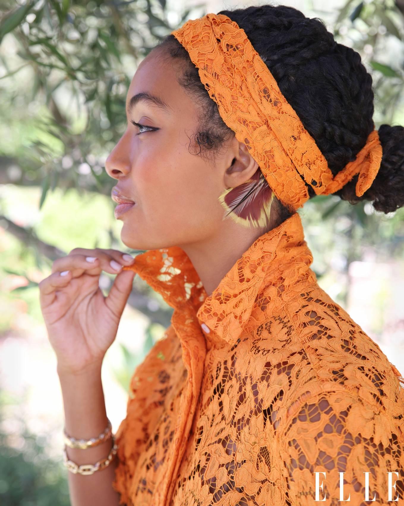 Yara Shahidi 2020 : Yara Shahidi – Afshin Shahidi Photoshoot for Elle Magazine 2020-05
