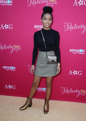 Yara Shahidi - 'An American Girl Story - Melody 1963: Love Has To Win' Screening in LA