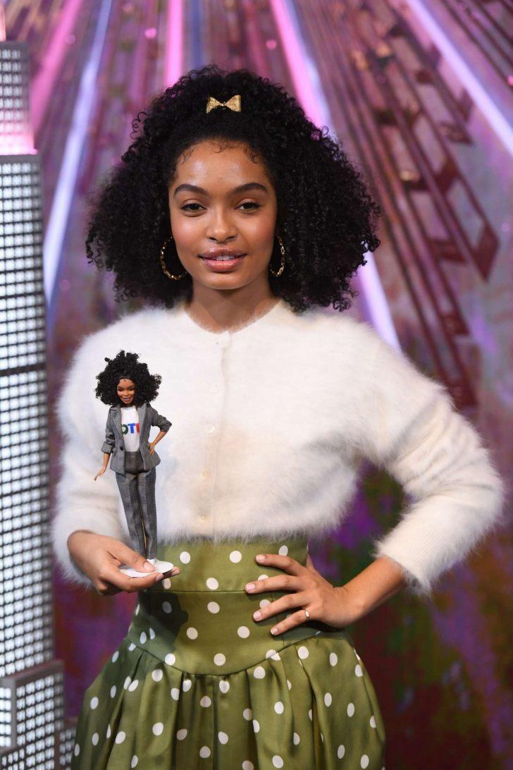 Yara Shahidi - Barbie's 60th Anniversary & International Women's Day in NYC