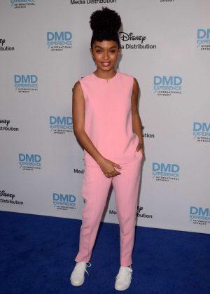 Yara Shahidi - Disney ABC International Upfronts in Los Angeles