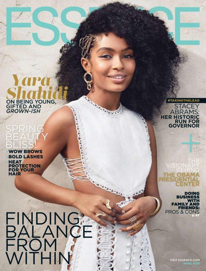 Yara Shahidi - Essence Magazine (April 2018)