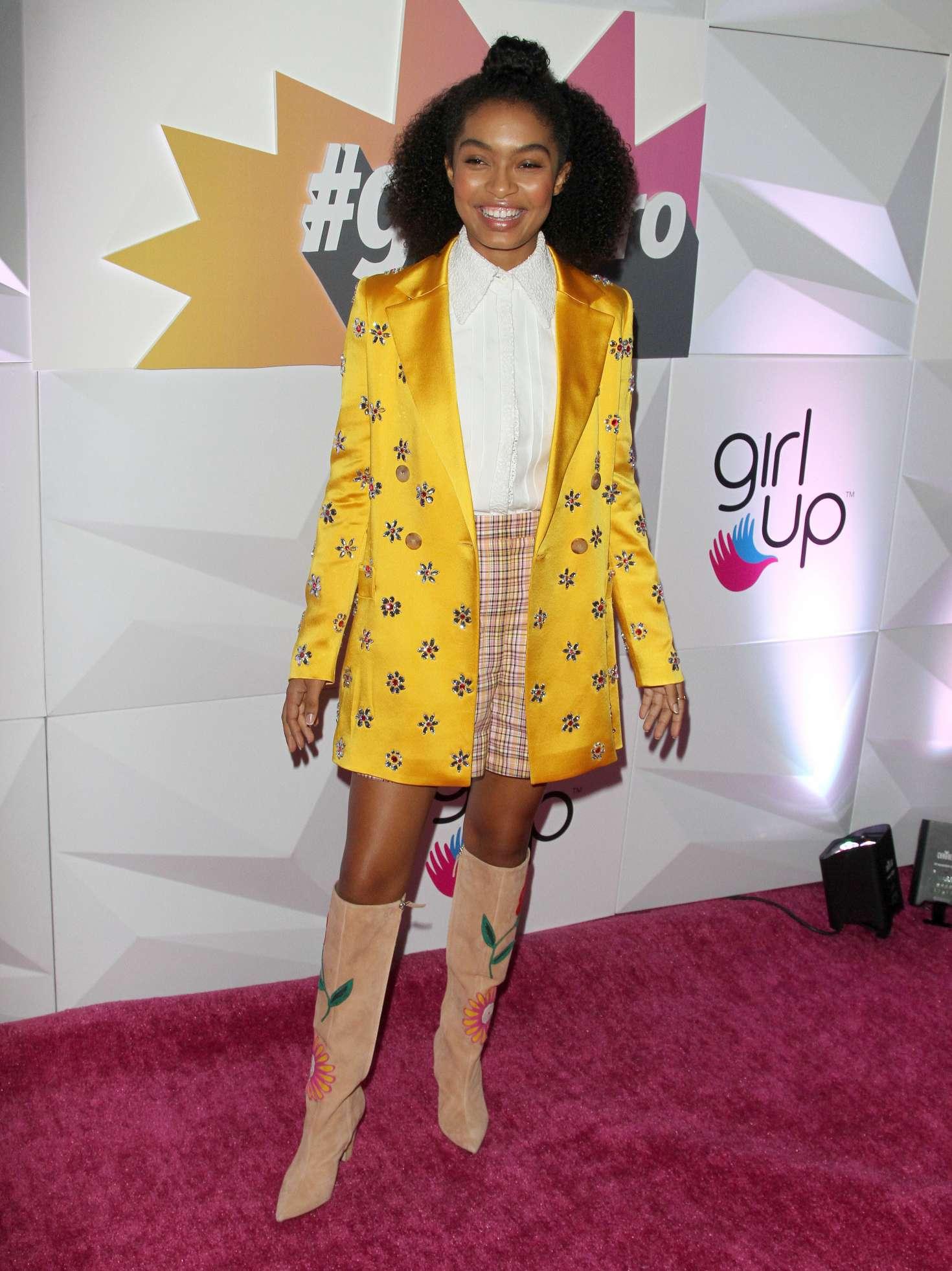 Yara Shahidi 2018 : Yara Shahidi: Girl Ups Inaugural GirlHero Awards Luncheon -01