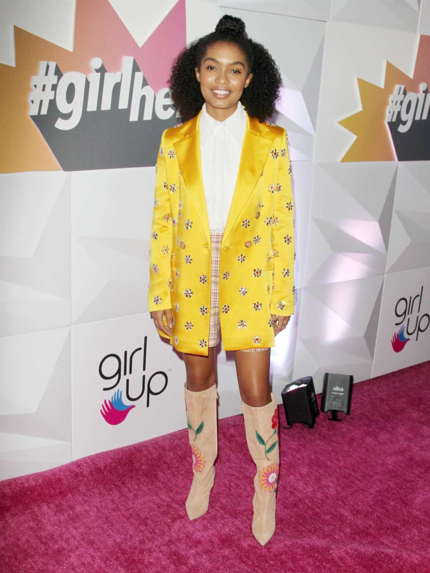 Yara Shahidi 2018 : Yara Shahidi: Girl Ups Inaugural GirlHero Awards Luncheon -03