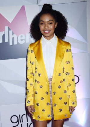 Yara Shahidi - Girl Up's Inaugural #GirlHero Awards Luncheon in Beverly Hills