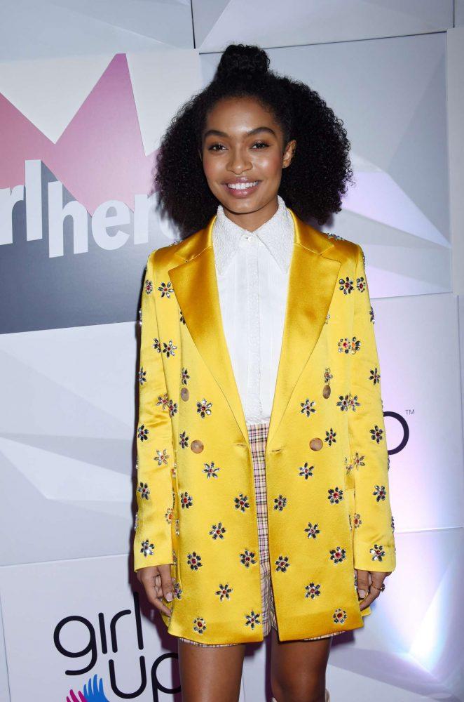 Yara Shahidi – Girl Up's Inaugural #GirlHero Awards Luncheon in Beverly Hills