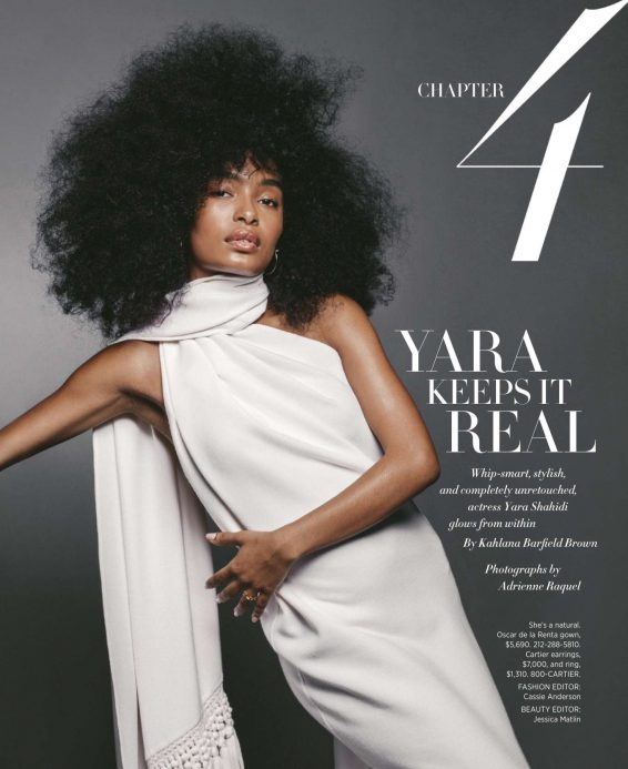 Yara Shahidi - Harper's Bazaar Magazine (August 2019)