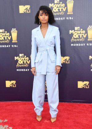 Yara Shahidi - MTV Movie and TV Awards 2018 in Santa Monica