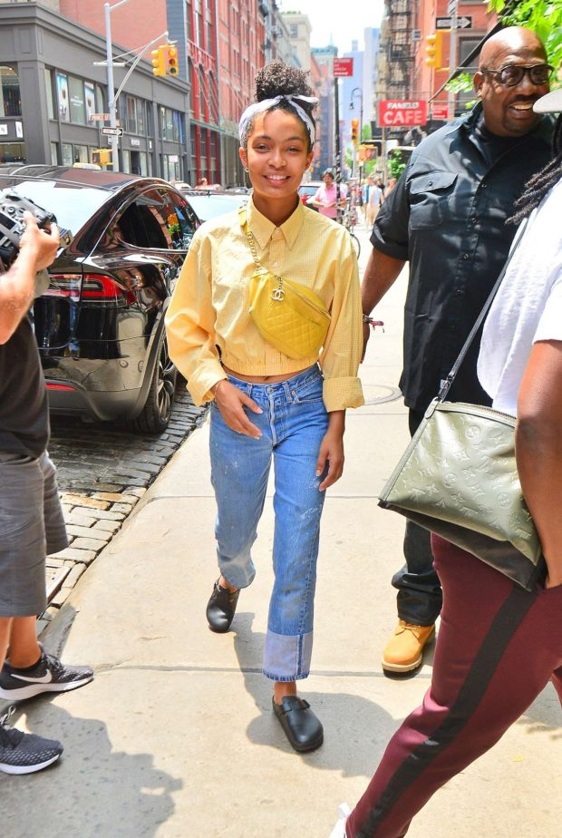 Yara Shahidi - Out in New York