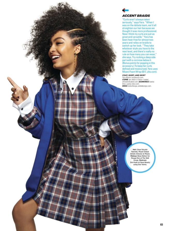 Yara Shahidi - Seventeen US Magazine (November/December 2017)