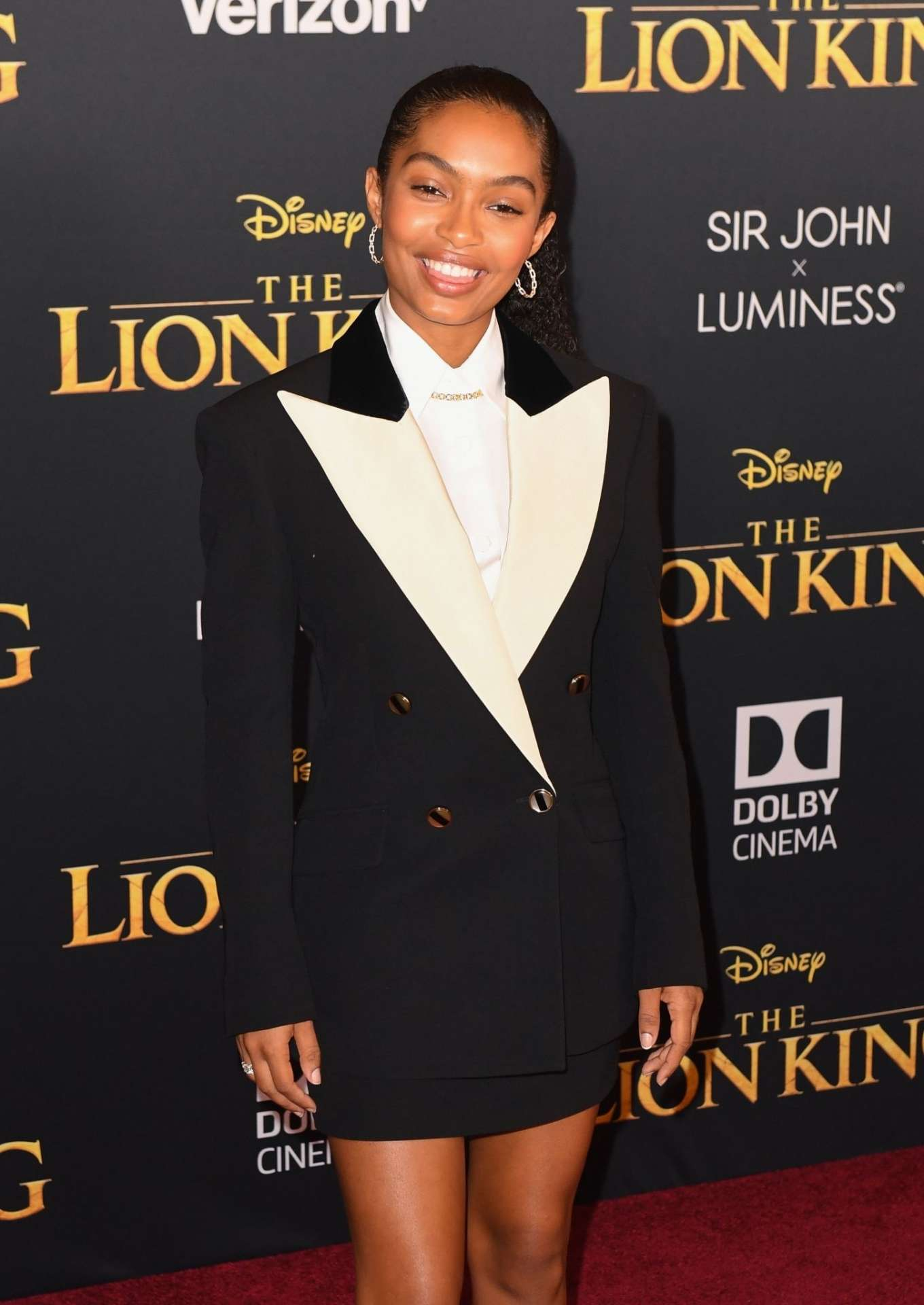 Yara Shahidi - 'The Lion King' Premiere in Hollywood