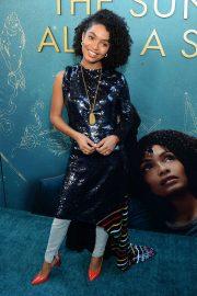 Yara Shahidi - 'The Sun is Also A Star' Premiere in Los Angeles