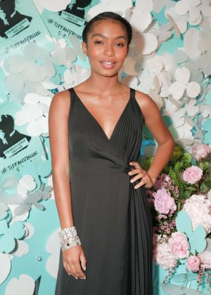 Yara Shahidi - Tiffany Paper Flowers Event in New York City