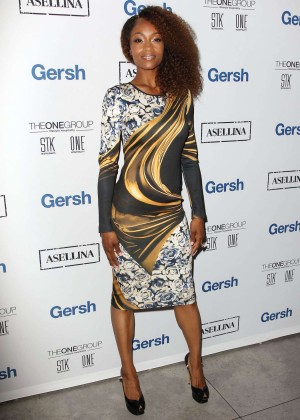 Yaya DaCosta - American Lung Association LUNG FORCE Launch in NYC
