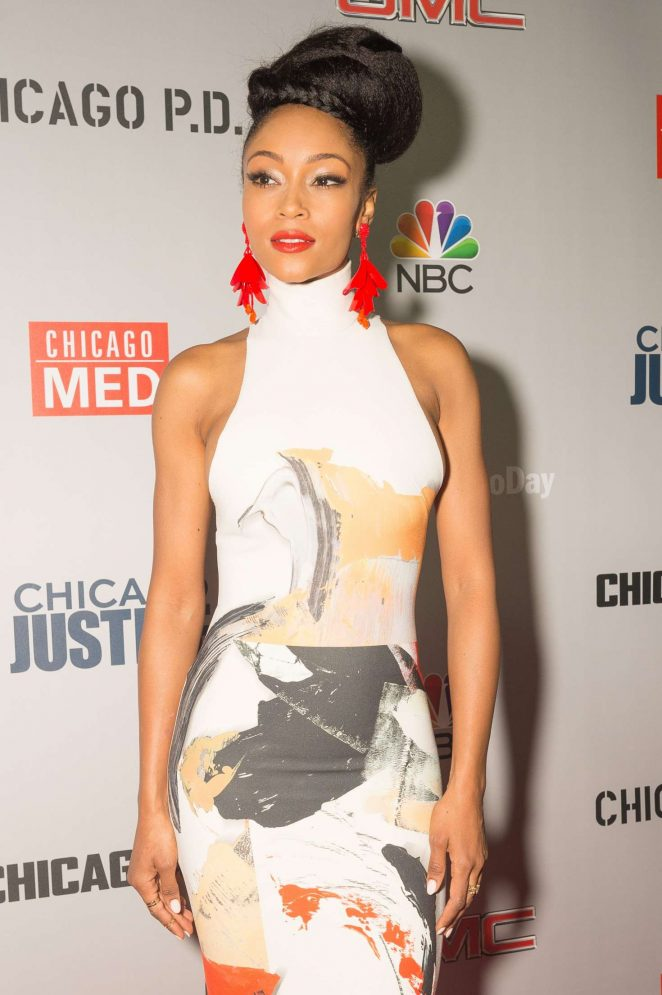 Yaya DaCosta - Dick Wolf Kick-Off Party in Chicago