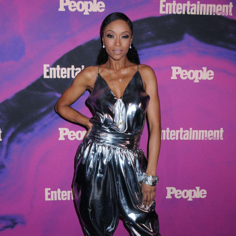 Yaya DaCosta 2019 : Yaya DaCosta: Entertainment Weekly & PEOPLE New York Upfronts Party-07