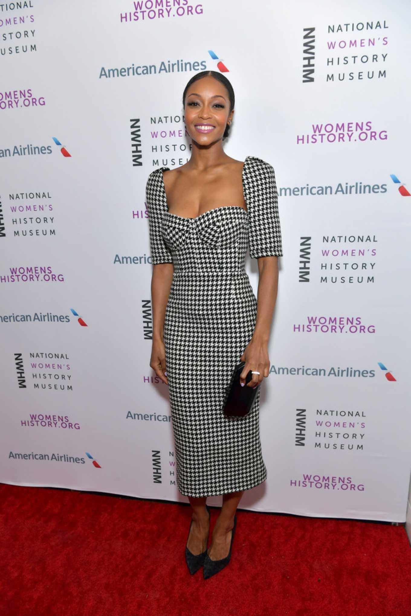Yaya DaCosta 2020 : Yaya DaCosta – National Womens History Museums Women Making History Awards in LA-01
