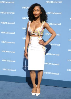 Yaya DaCosta - NBCUniversal Upfront Presentation 2016 in New York City