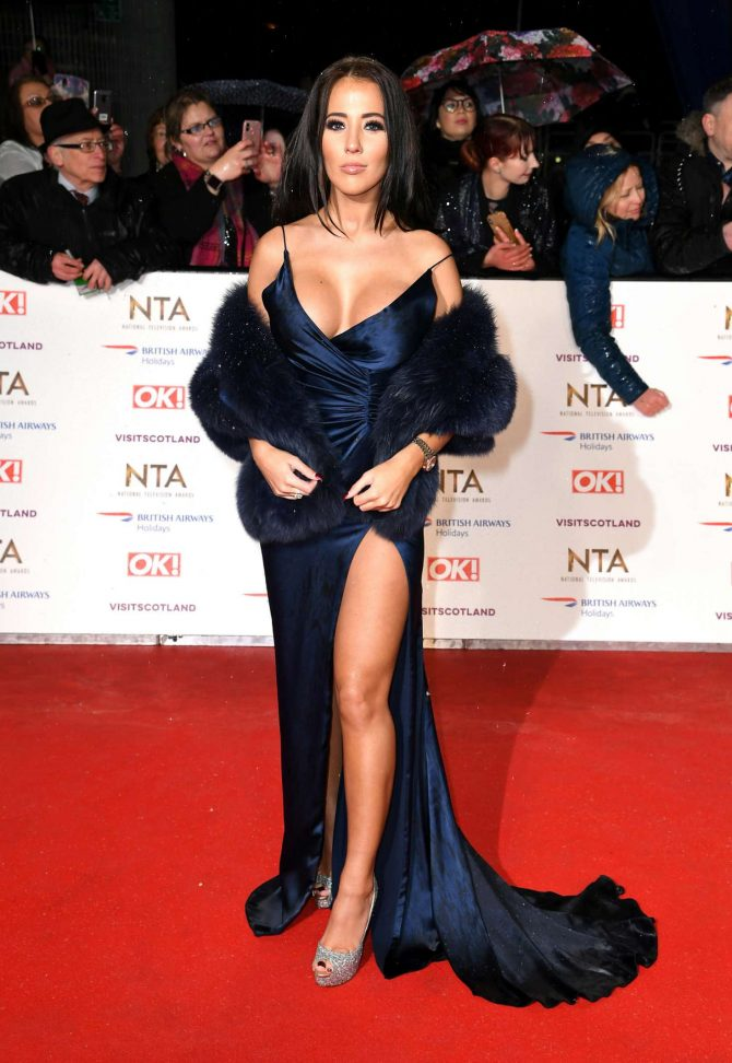 Yazmin Oukhellou - 2019 National Television Awards in London