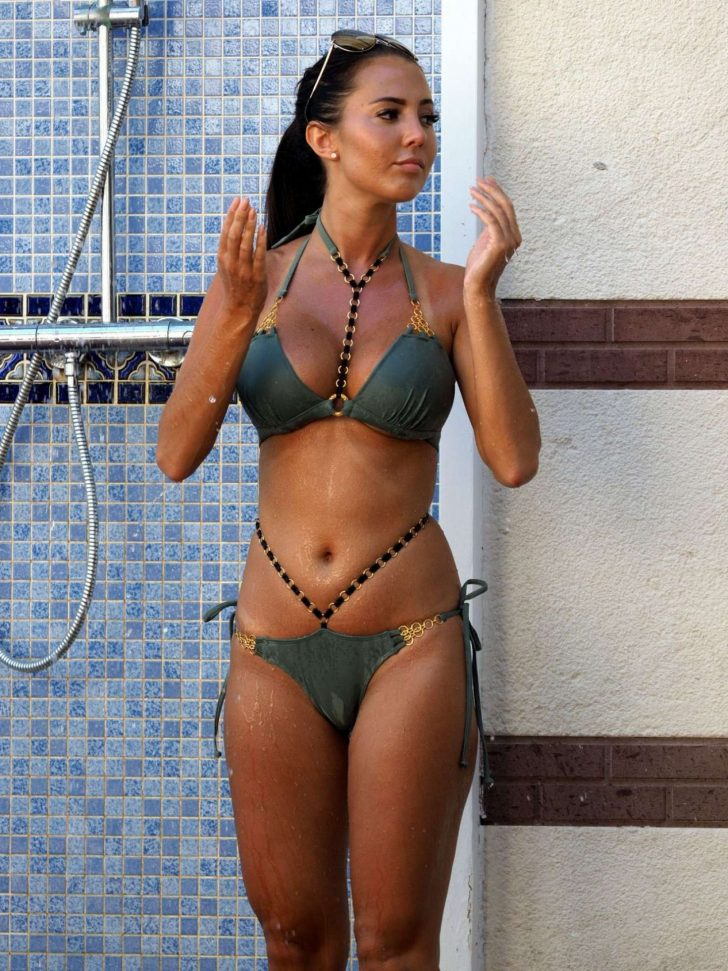 Yazmin Oukhellou in Bikini on Holiday in Dubai