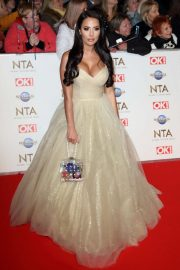 Yazmin Oukhellou - National Television Awards 2020 in London adds