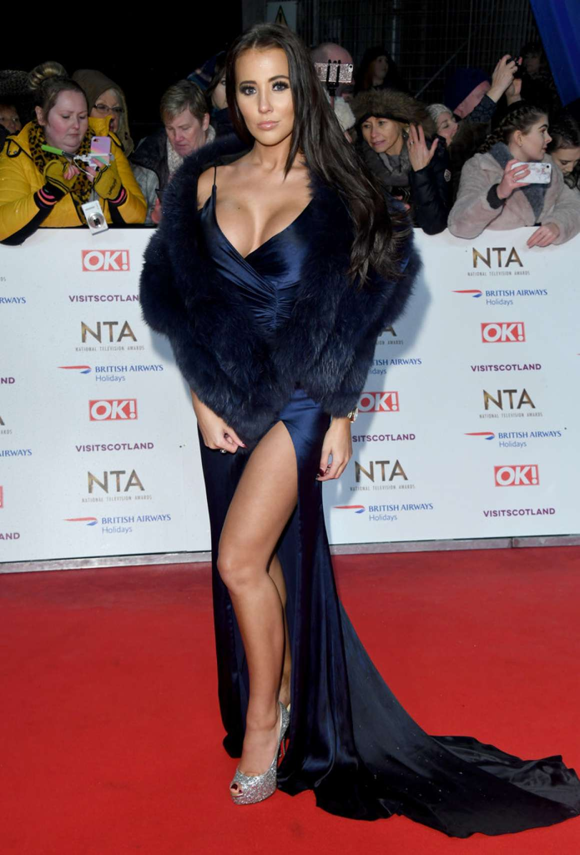 Yazmin Oukhellou - National Television Awards 2020 in London