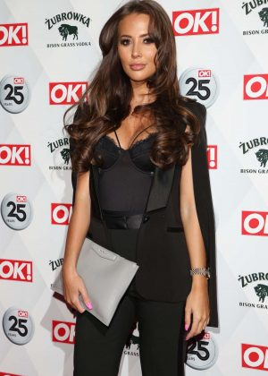 Yazmin Oukhellou -  OK! Magazine's 25th Anniversary Party in London