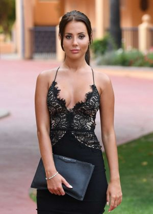 Yazmin Oukhellou on a Photoshoot in Marbella