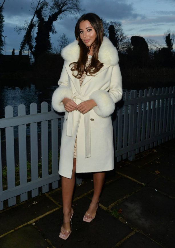 Yazmin Oukhellou - Out and about in Essex