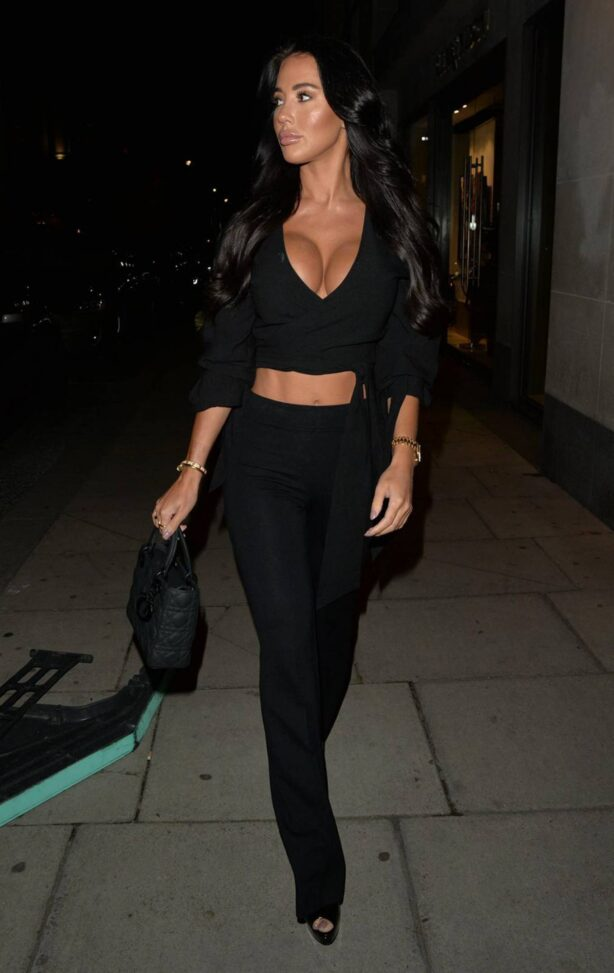 Yazmin Oukhellou - Seen at MNKY House in Mayfair