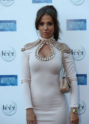 Yazmin Oukhellou - 'The Only Way Is Essex' Premiere in Chigwell