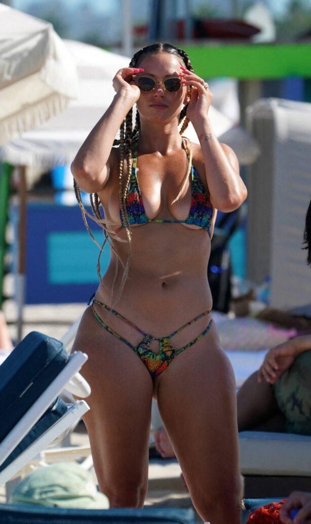 YesJulz - In a bikini at the beach