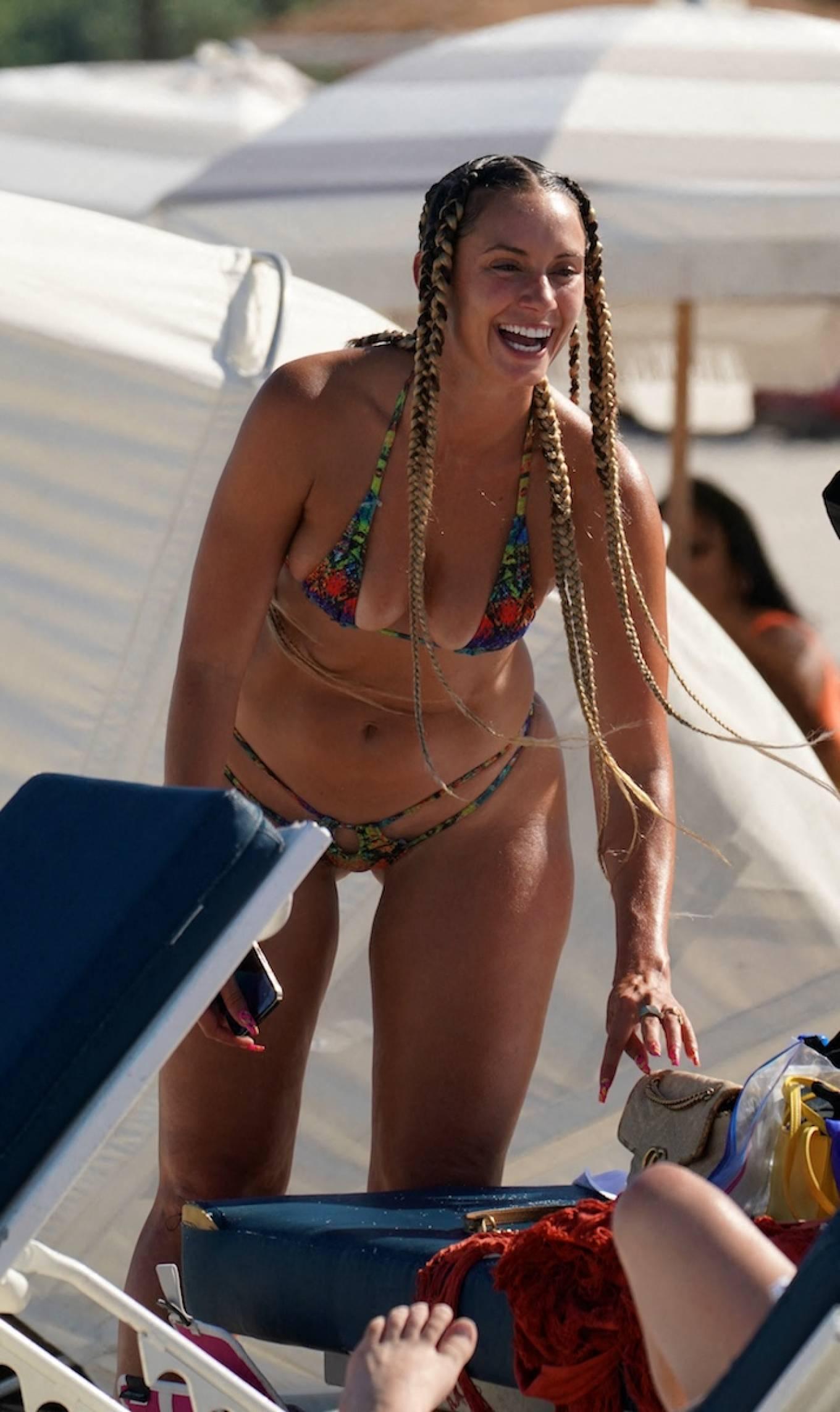 YesJulz 2021 : YesJulz – In a bikini at the beach -11