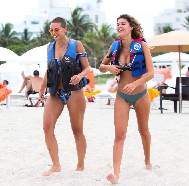YesJulz in Pink Bikini in Miami Beach Pic 12 of 35