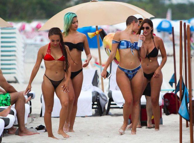 YesJulz in Pink Bikini in Miami Beach Pic 18 of 35