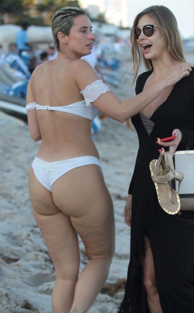 YesJulz in White Bikini 2017 -21