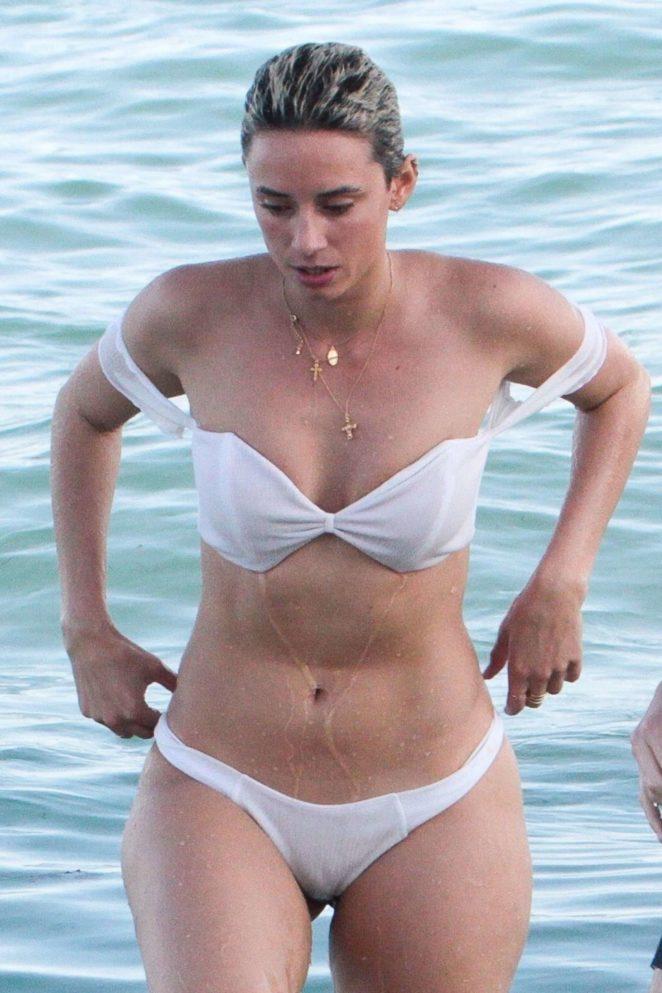 YesJulz in White Bikini 2017 -37