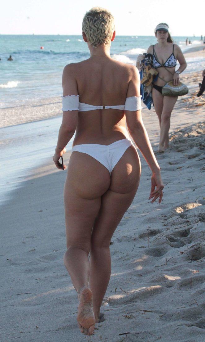 YesJulz in White Bikini 2017 -41