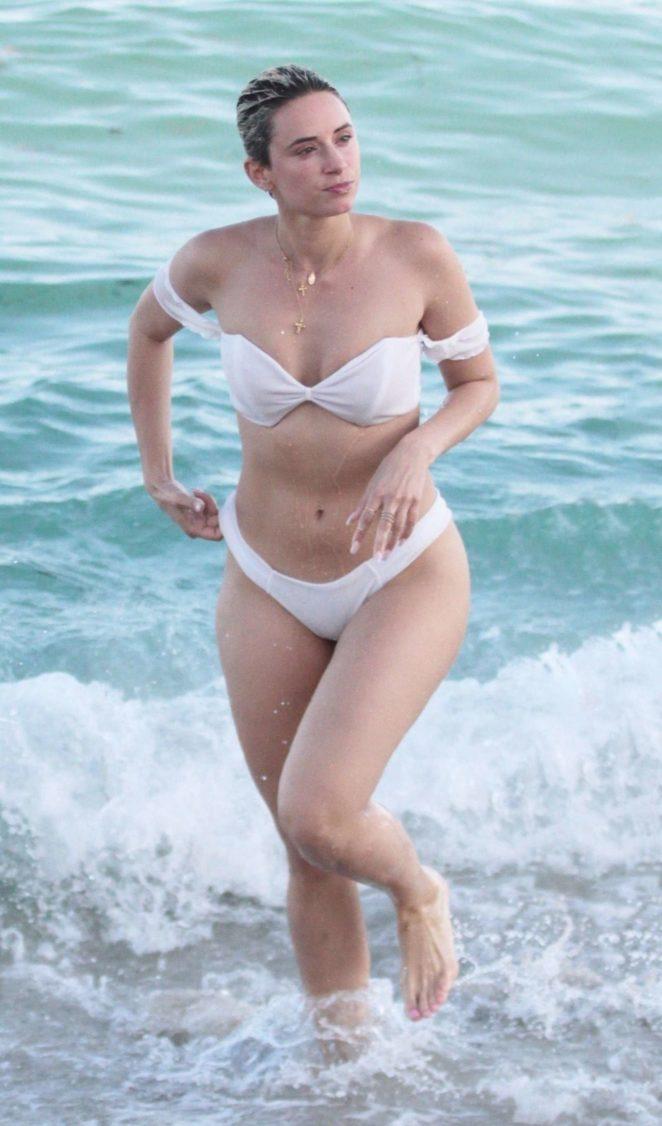 YesJulz in White Bikini 2017 -52
