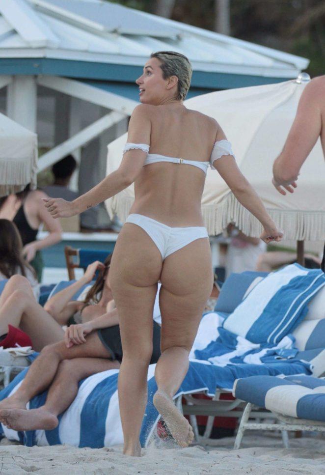 YesJulz in White Bikini 2017 -54