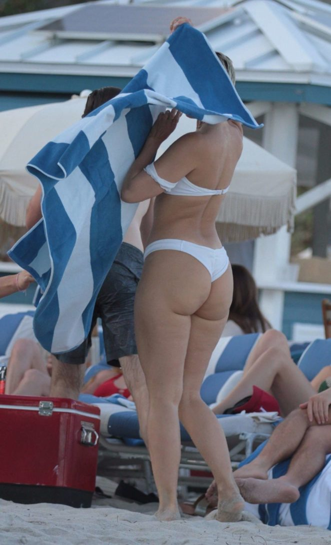 YesJulz in White Bikini 2017 -58