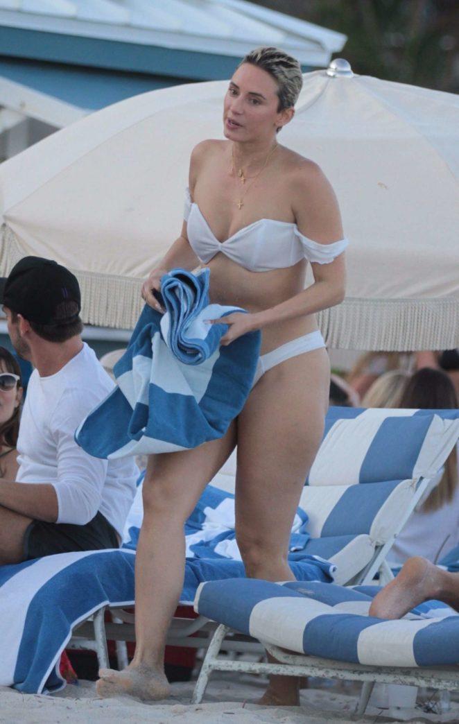 YesJulz in White Bikini 2017 -70