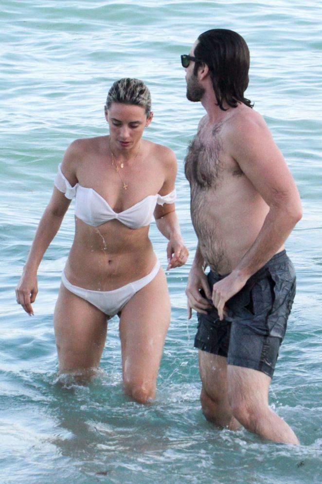 YesJulz in White Bikini 2017 -73