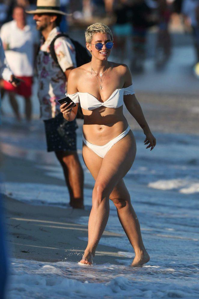 YesJulz in White Bikini 2017 -76